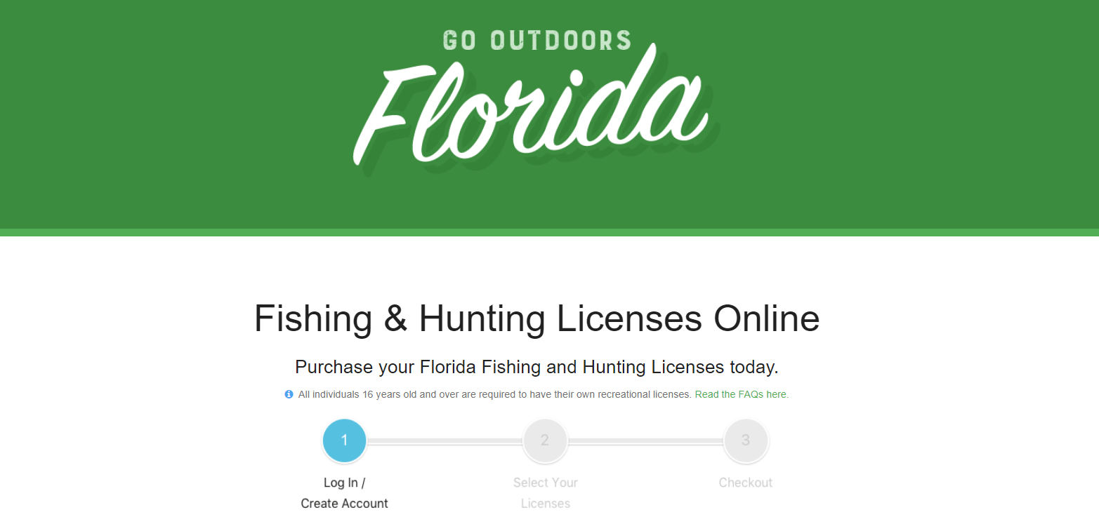 Easiest way to purchase your Florida fishing license is online.How to get a Fishing License in Florida Fishing app