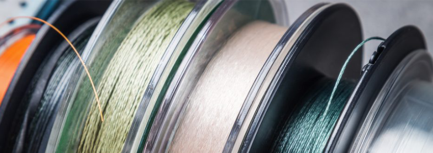 Monofilament and fluorocarbon fishing lines