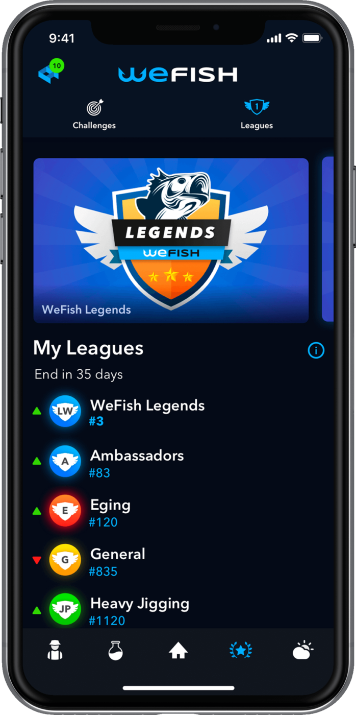 WeFish Leagues